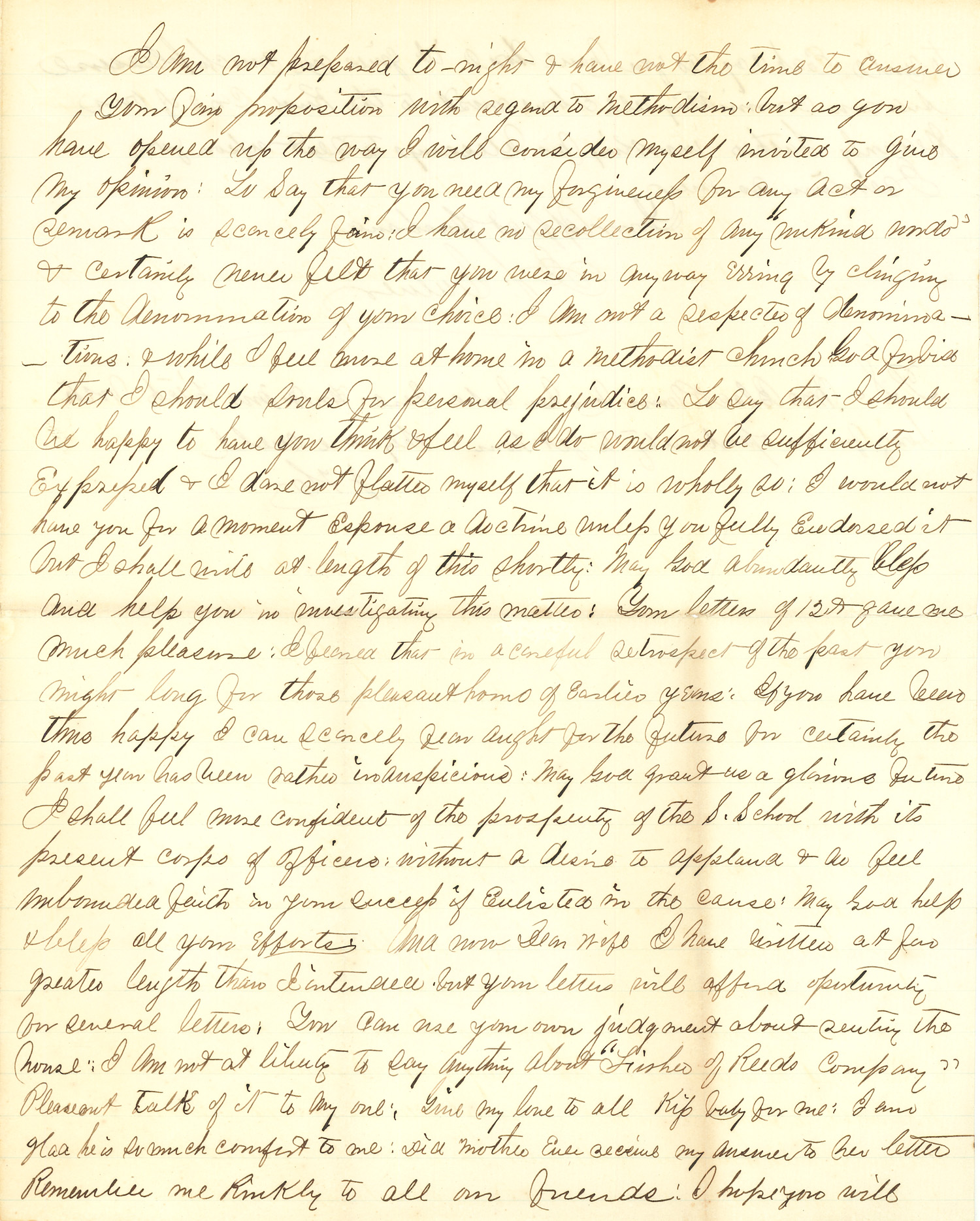 Joseph Culver Letter, January 12, 1863, Page 3
