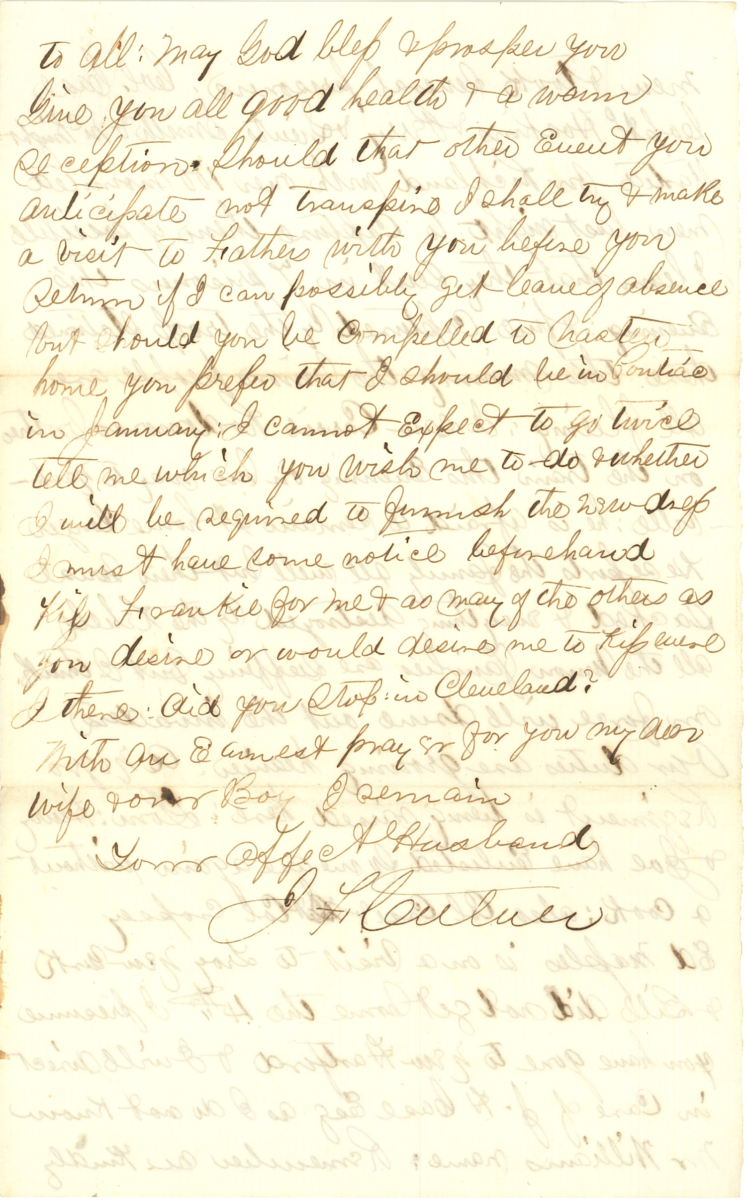 Joseph Culver Letter, July 2, 1863, Page 6