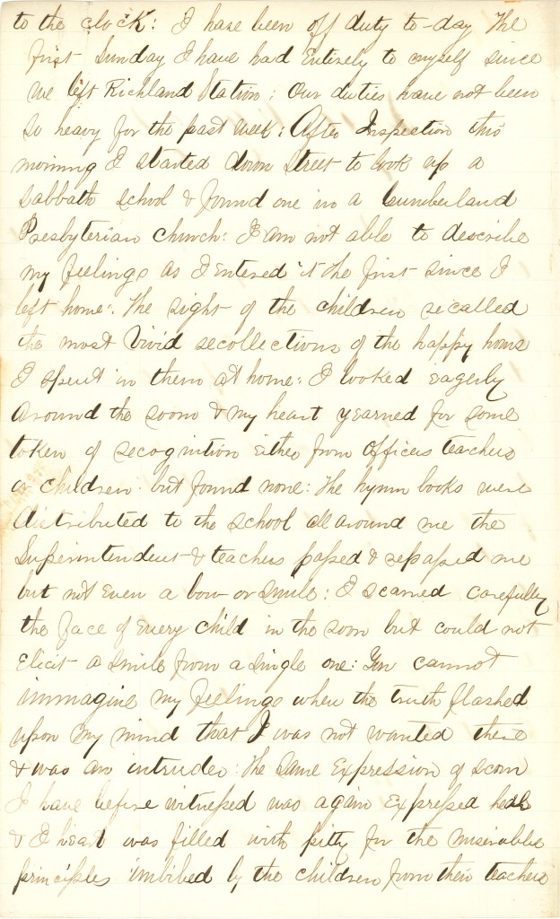 Joseph Culver Letter, October 5, 1863, Page 2