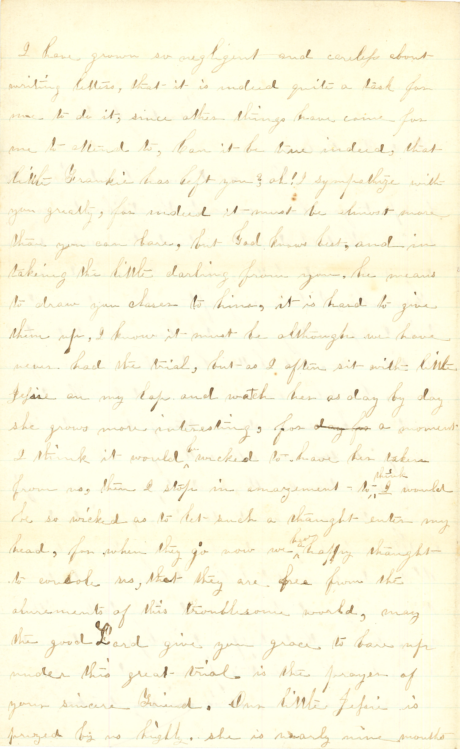 Joseph Culver Letter, December 2, 1863, Page 2