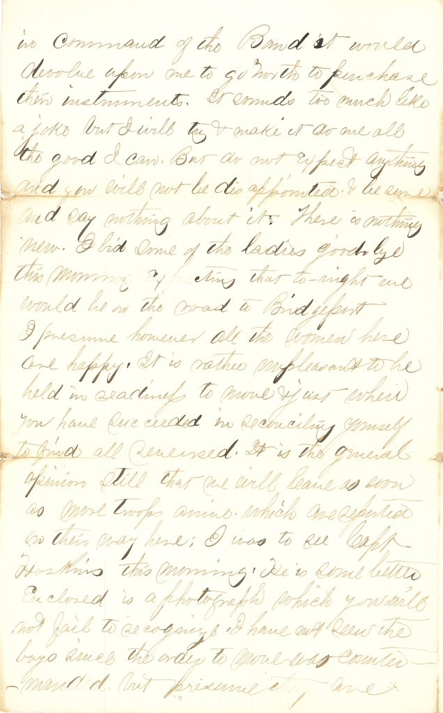 Joseph Culver Letter, February 3, 1864, Page 2