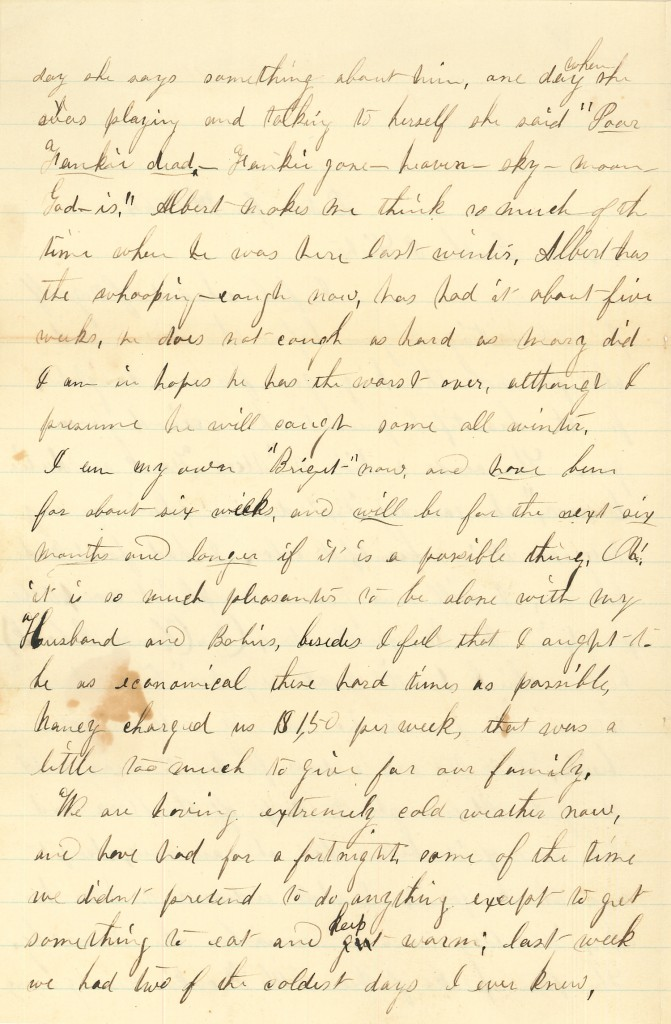 Joseph Culver Letter, January 9, 1864, Page 2