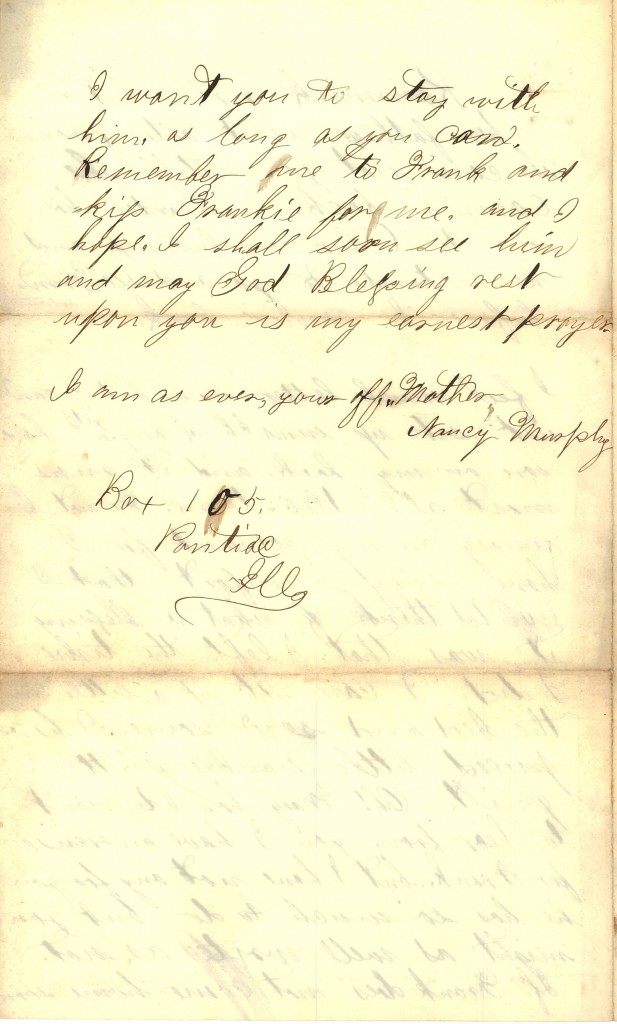Joseph Culver Letter, March 20, 1863, Page 4