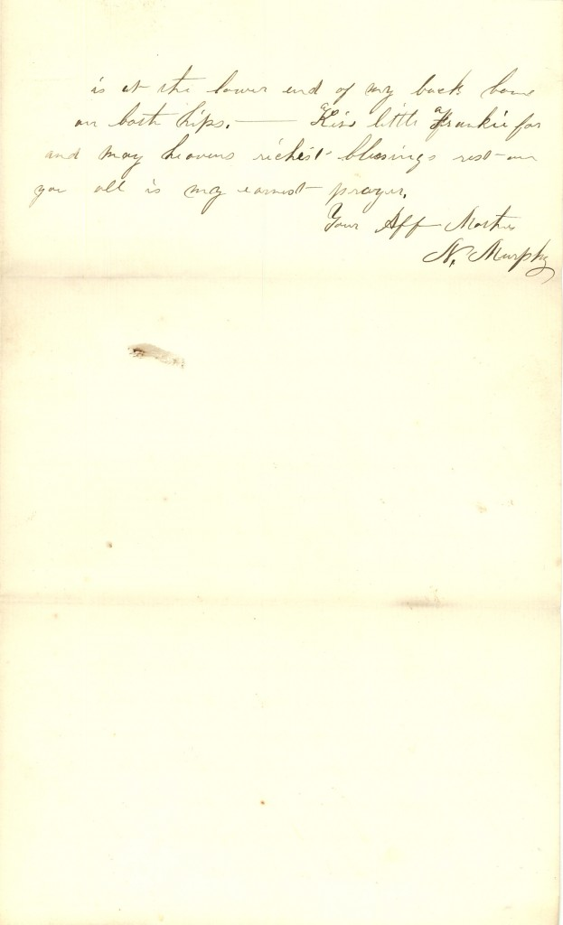 Joseph Culver Letter, March 8, 1863, Page 3