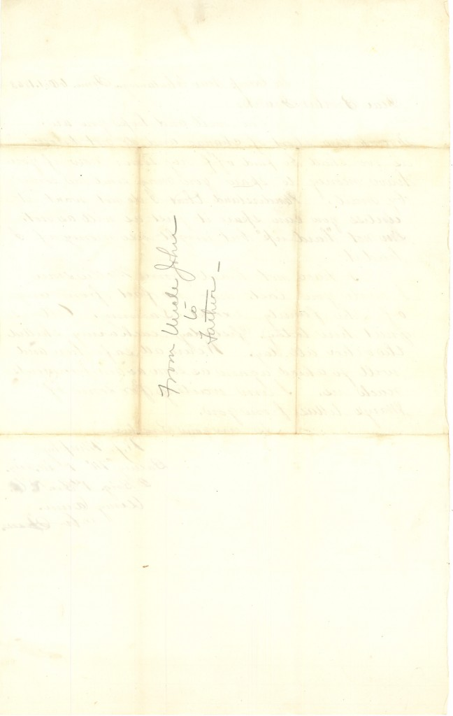 Joseph Culver Letter, October 6, 1863, Letter 2, Page 2