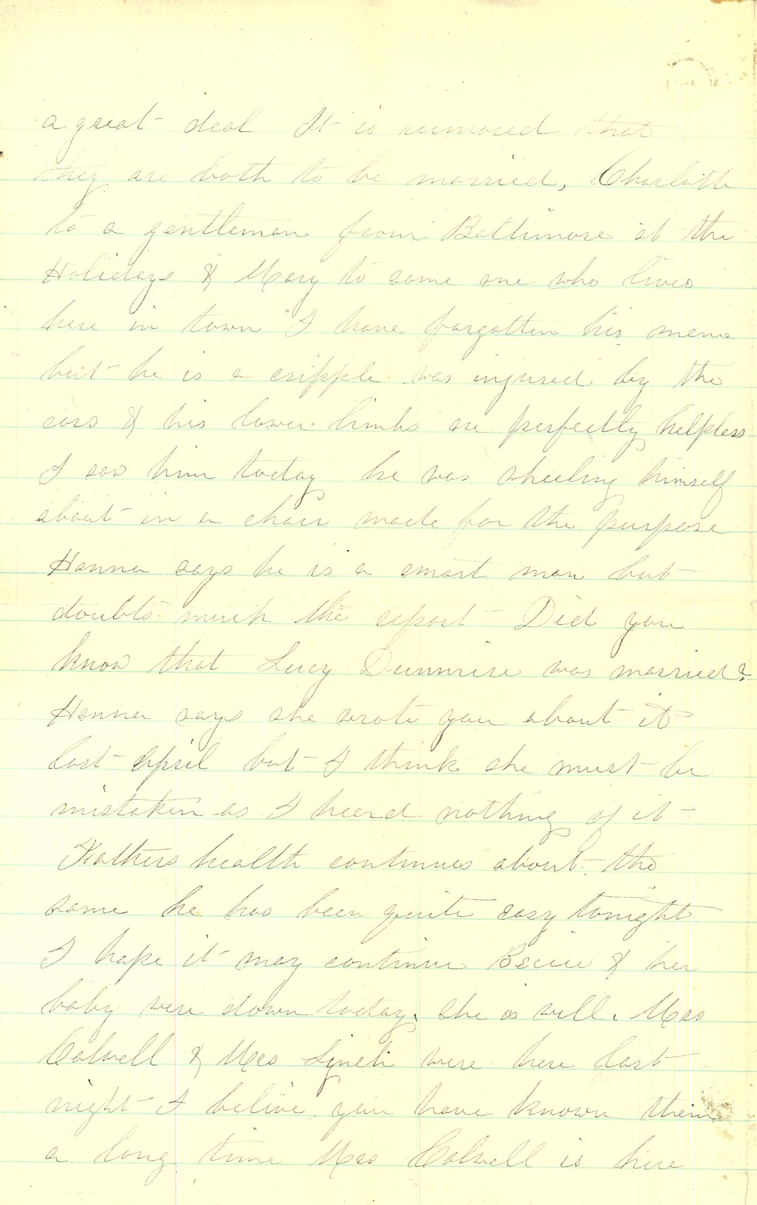 Joseph Culver Letter, September 6, 1863, Page 2