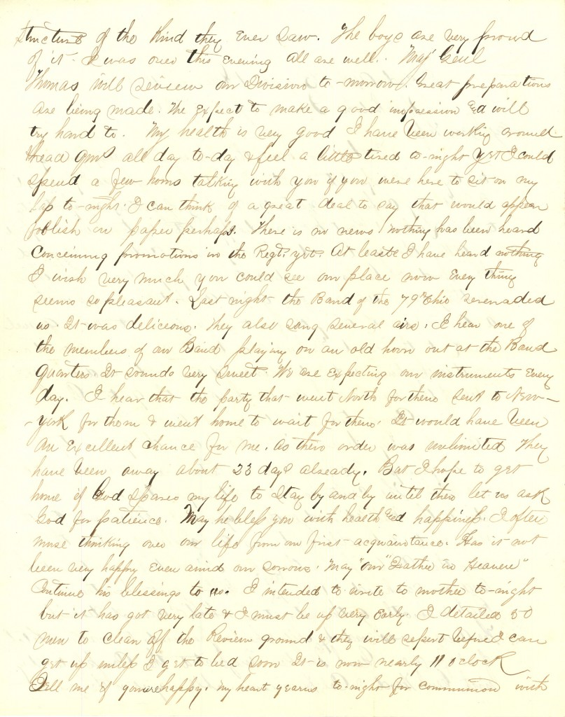 Joseph Culver Letter, April 13, 1864, Page 2