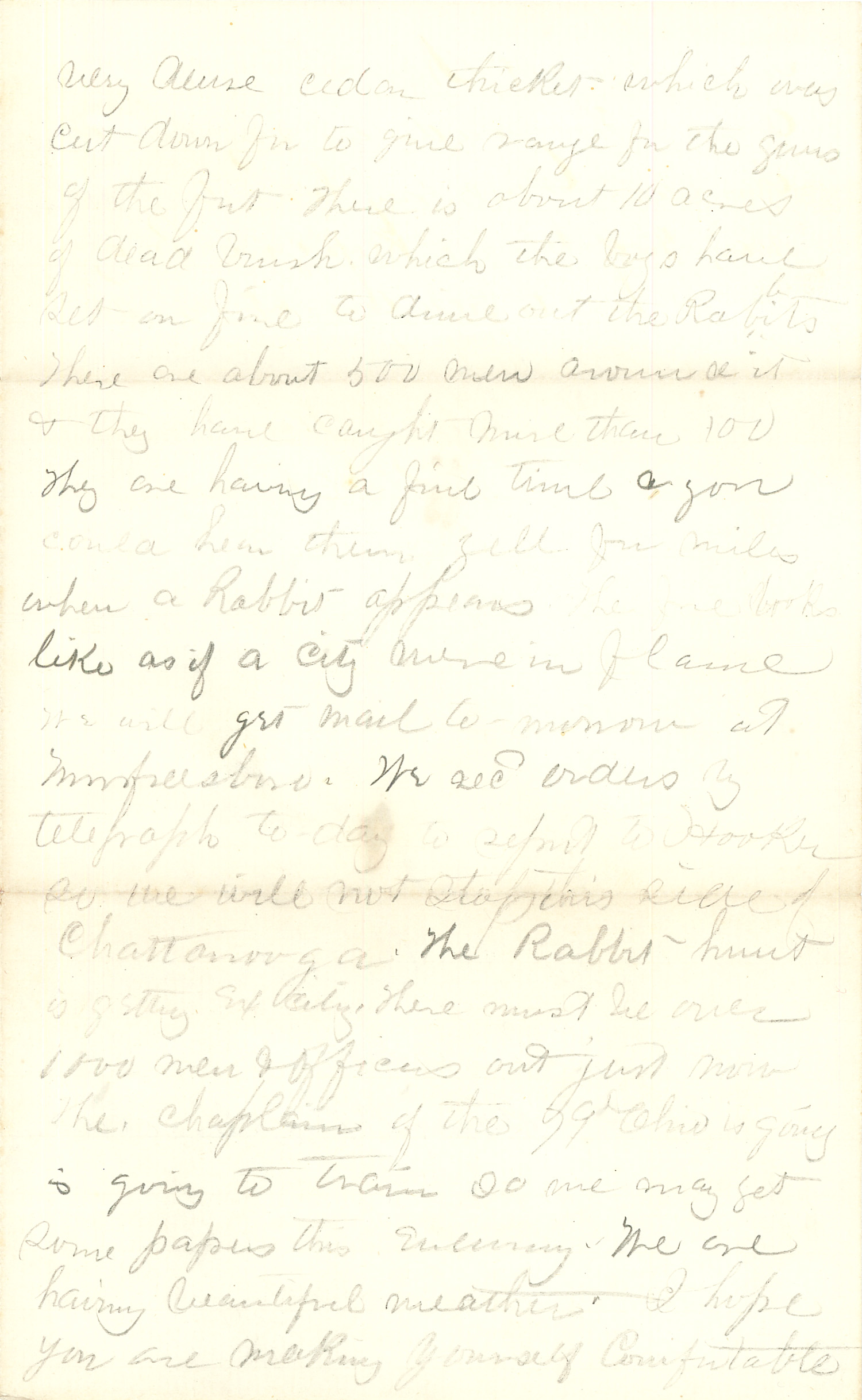 Joseph Culver Letter, February 24, 1864, Letter 2, Page 3