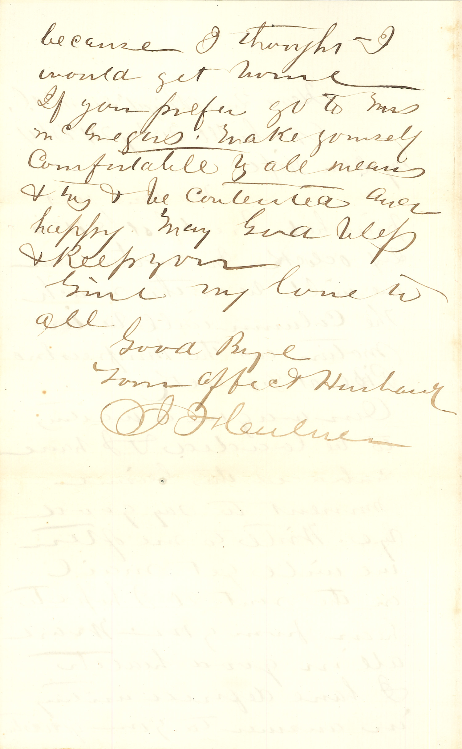 Joseph Culver Letter, February 24, 1864, Page 2