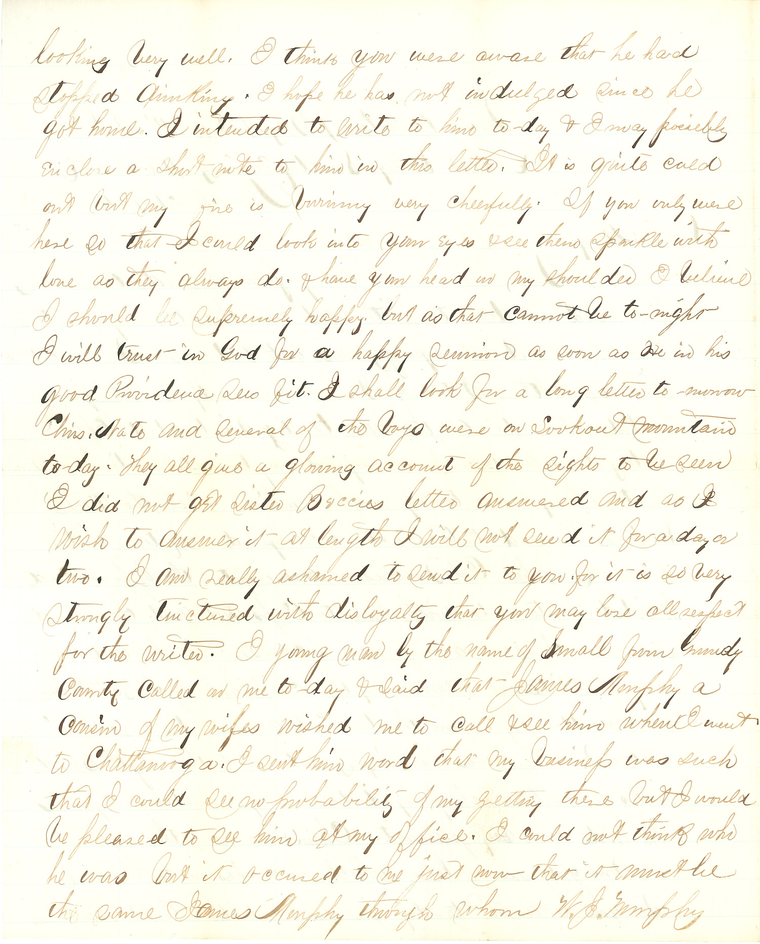 Joseph Culver Letter, March 20, 1864, Letter 2, Page 2