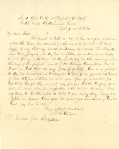 Joseph Culver Letter, August 30, 1864, Page 1