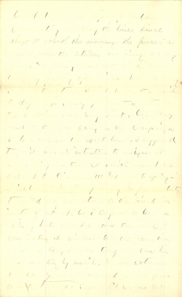 Joseph Culver Letter, August 9, 1864, Page 2