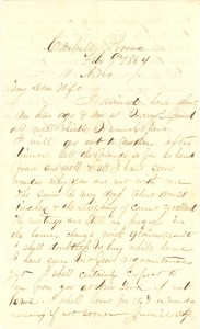Joseph Culver Letter, February 9, 1865, Letter 2, Page 1