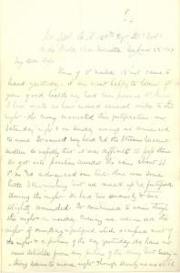 Joseph Culver Letter, June 22, 1864, Page 1