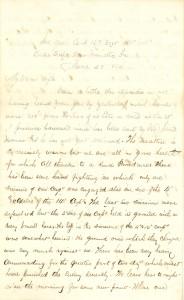 Joseph Culver Letter, June 28, 1864, Page 1
