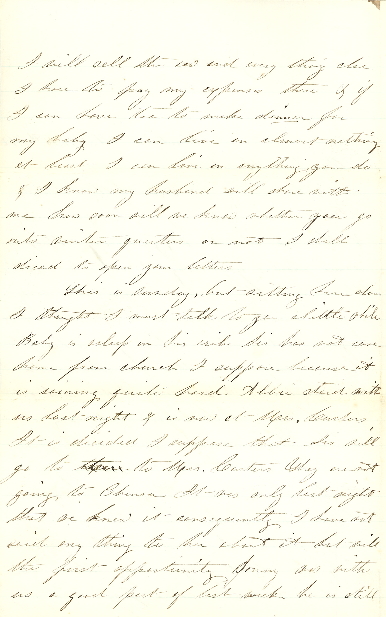 Joseph Culver Letter, November 14, 1862, Page 2