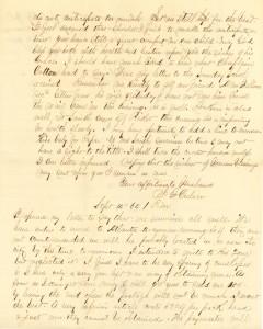 Joseph Culver Letter, September 14, 1864, Page 1