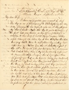 Joseph Culver Letter, September 21, 1864, Page 1