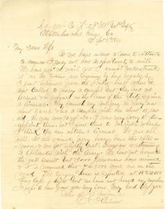 Joseph Culver Letter, September 5, 1864, Page 1