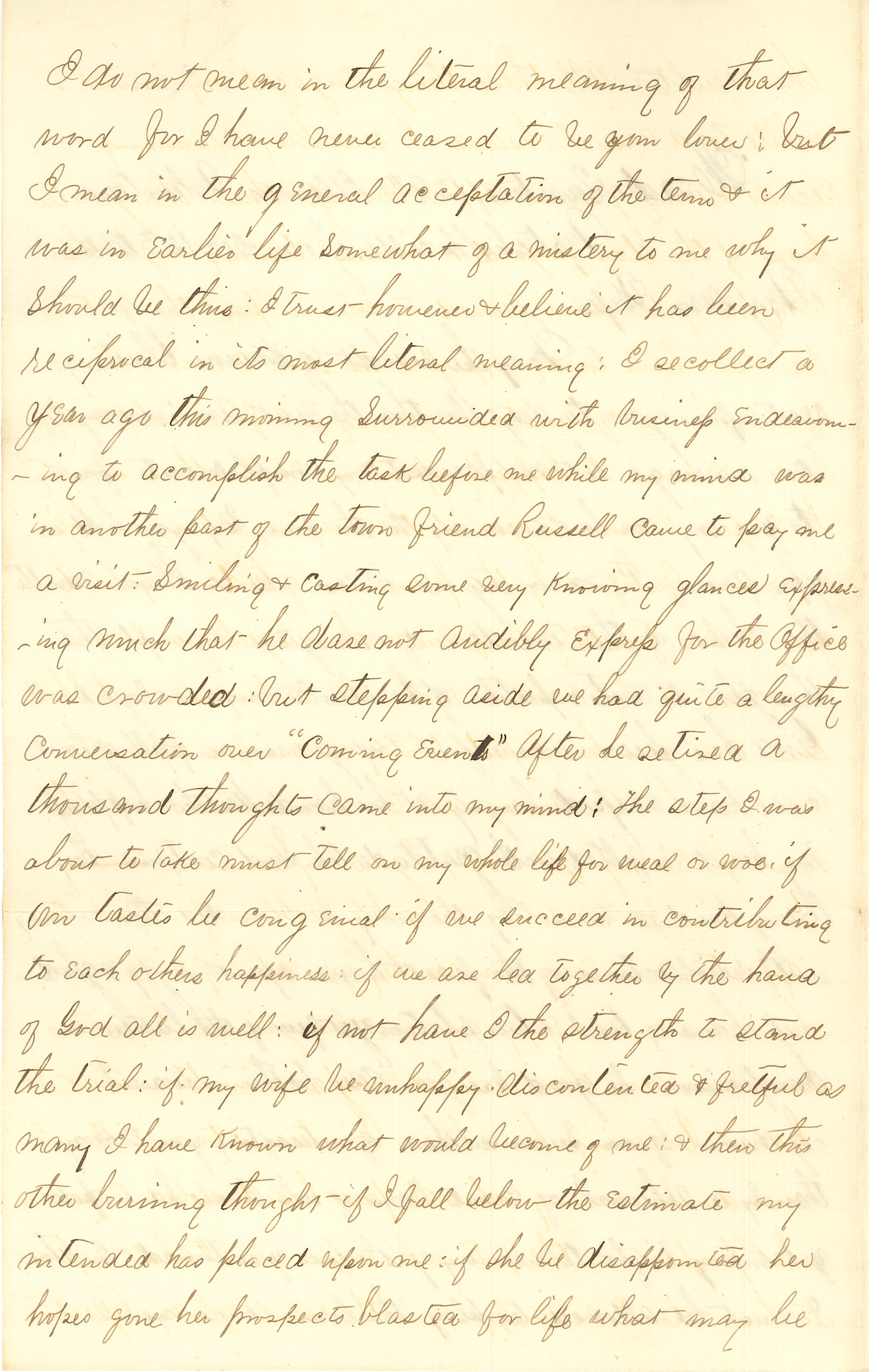 Joseph Culver Letter, December 12, 1862, Page 2