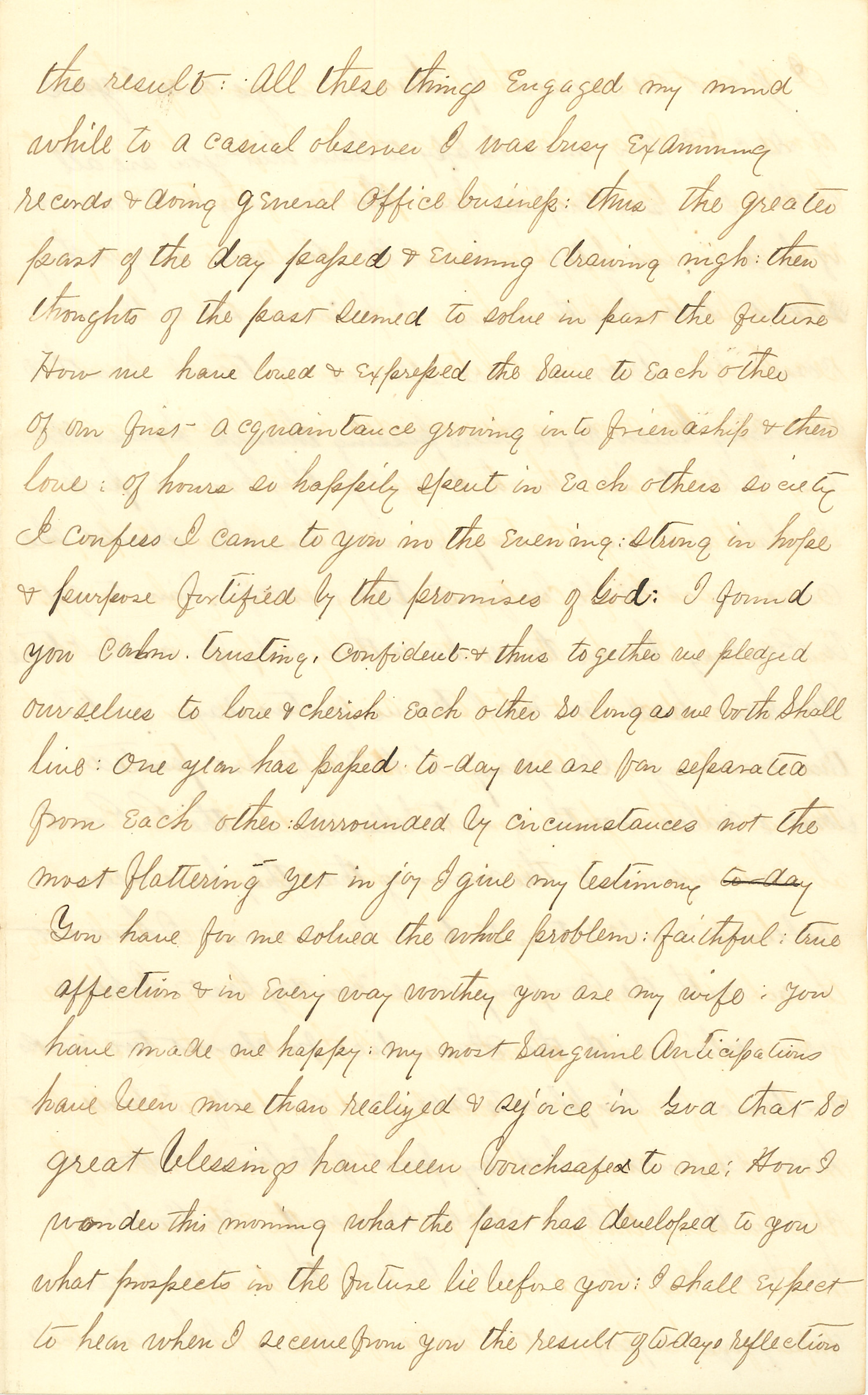 Joseph Culver Letter, December 12, 1862, Page 3