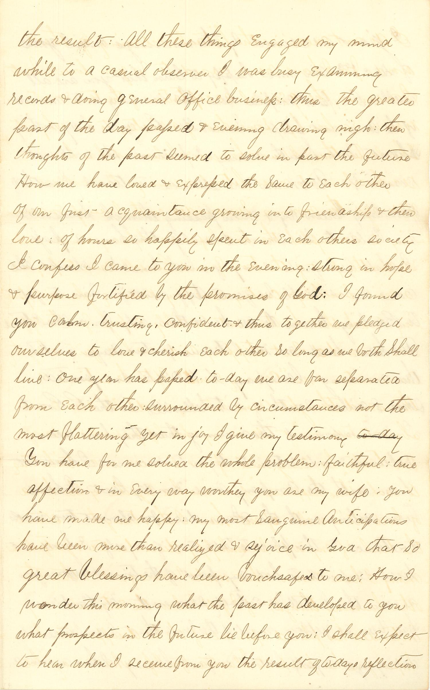 Joseph Culver Letter, December 12, 1862, Page 3