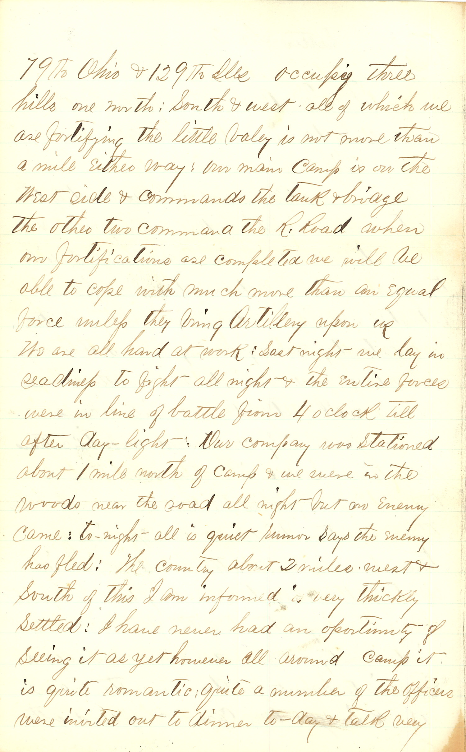 Joseph Culver Letter, December 25, 1862, Letter 2, Page 2