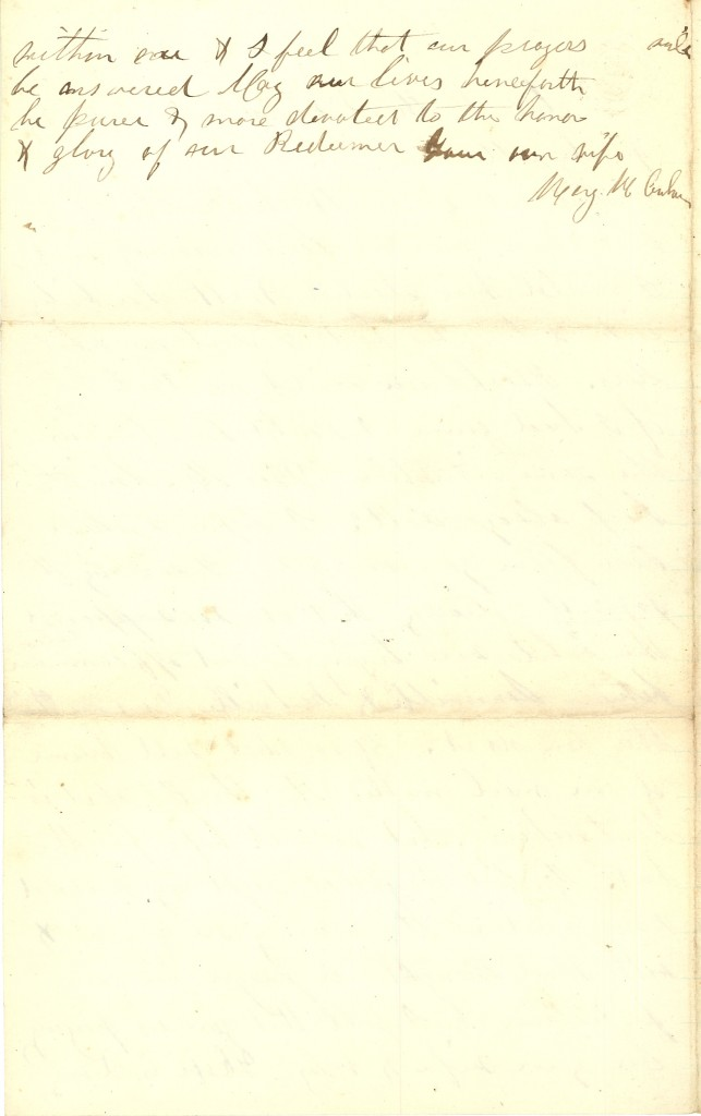 Joseph Culver Letter, December 27, 1862, Page 4