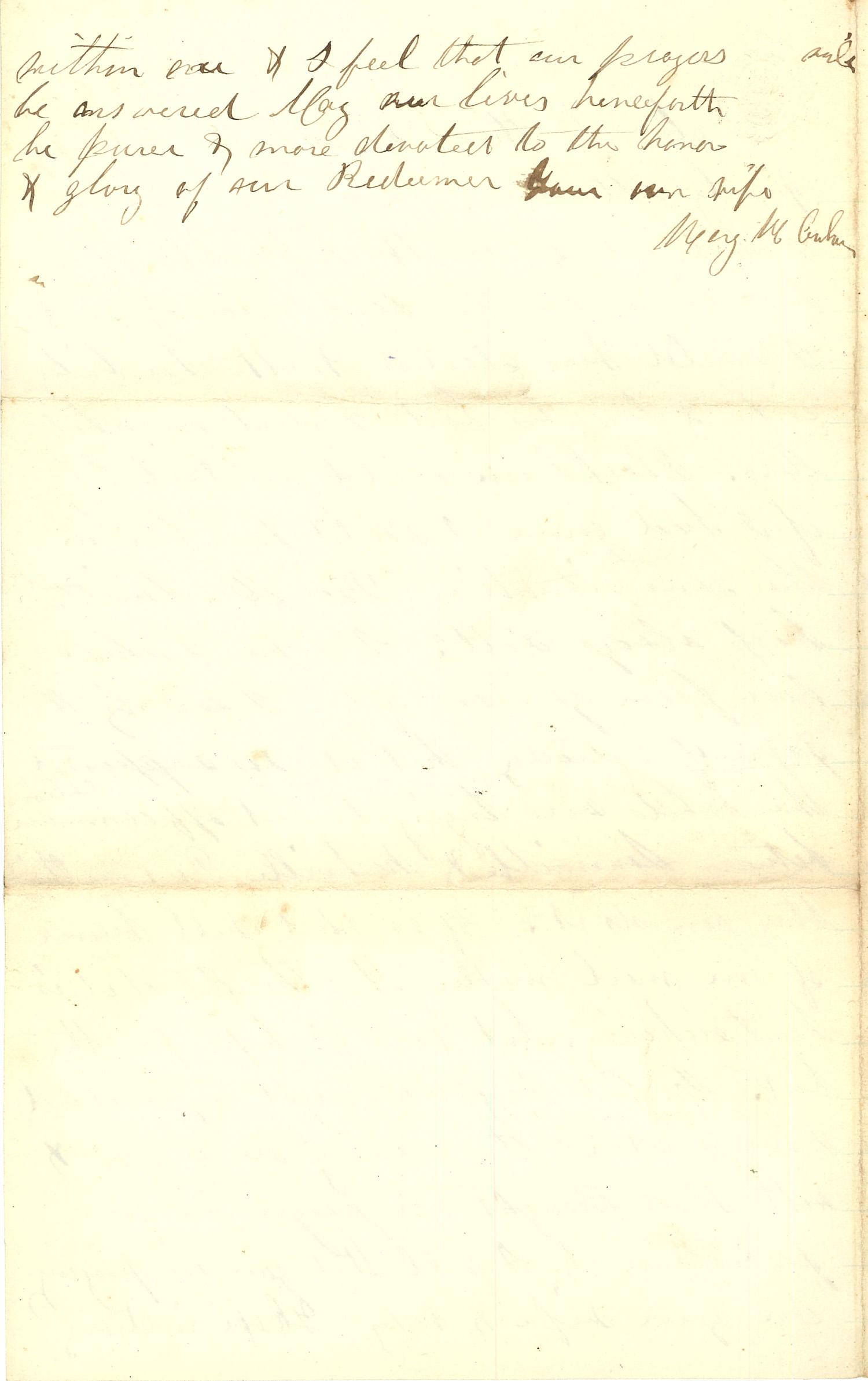 Joseph Culver Letter, December 27, 1862, Page 4