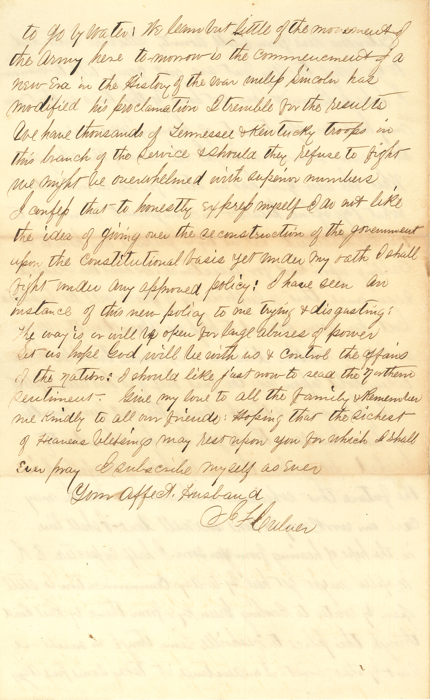 Joseph Culver Letter, December 31, 1862, Page 4