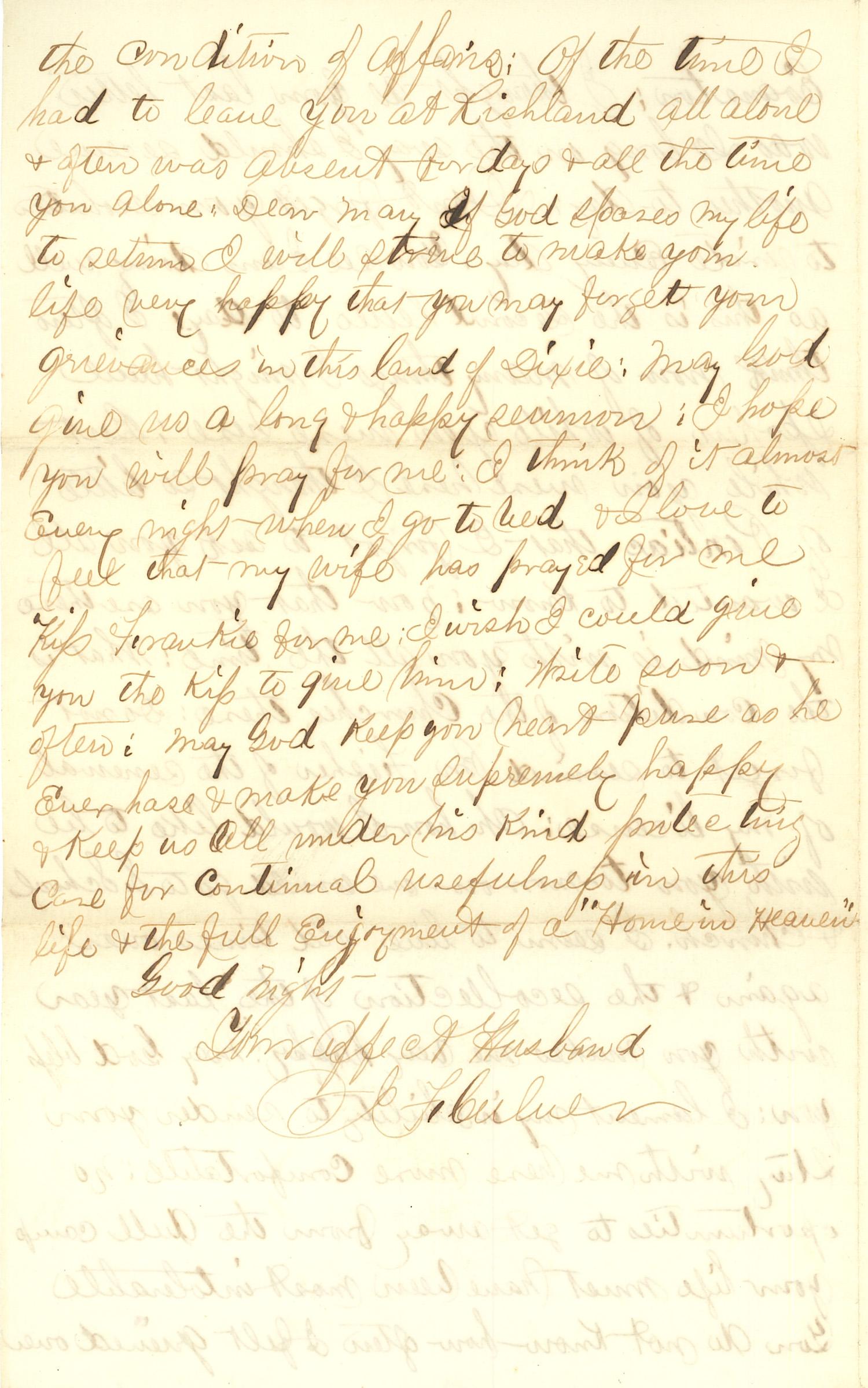 Joseph Culver Letter, June 27, 1863, Letter 2, Page 4