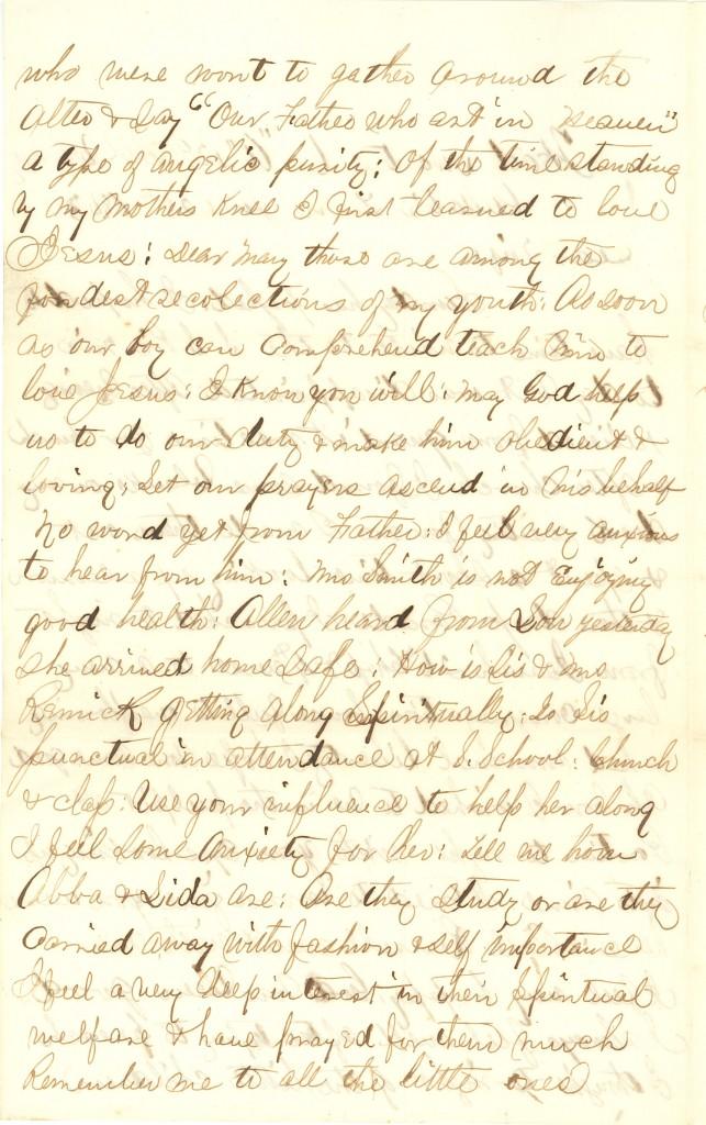 Joseph Culver Letter, June 28, 1863, Page 2