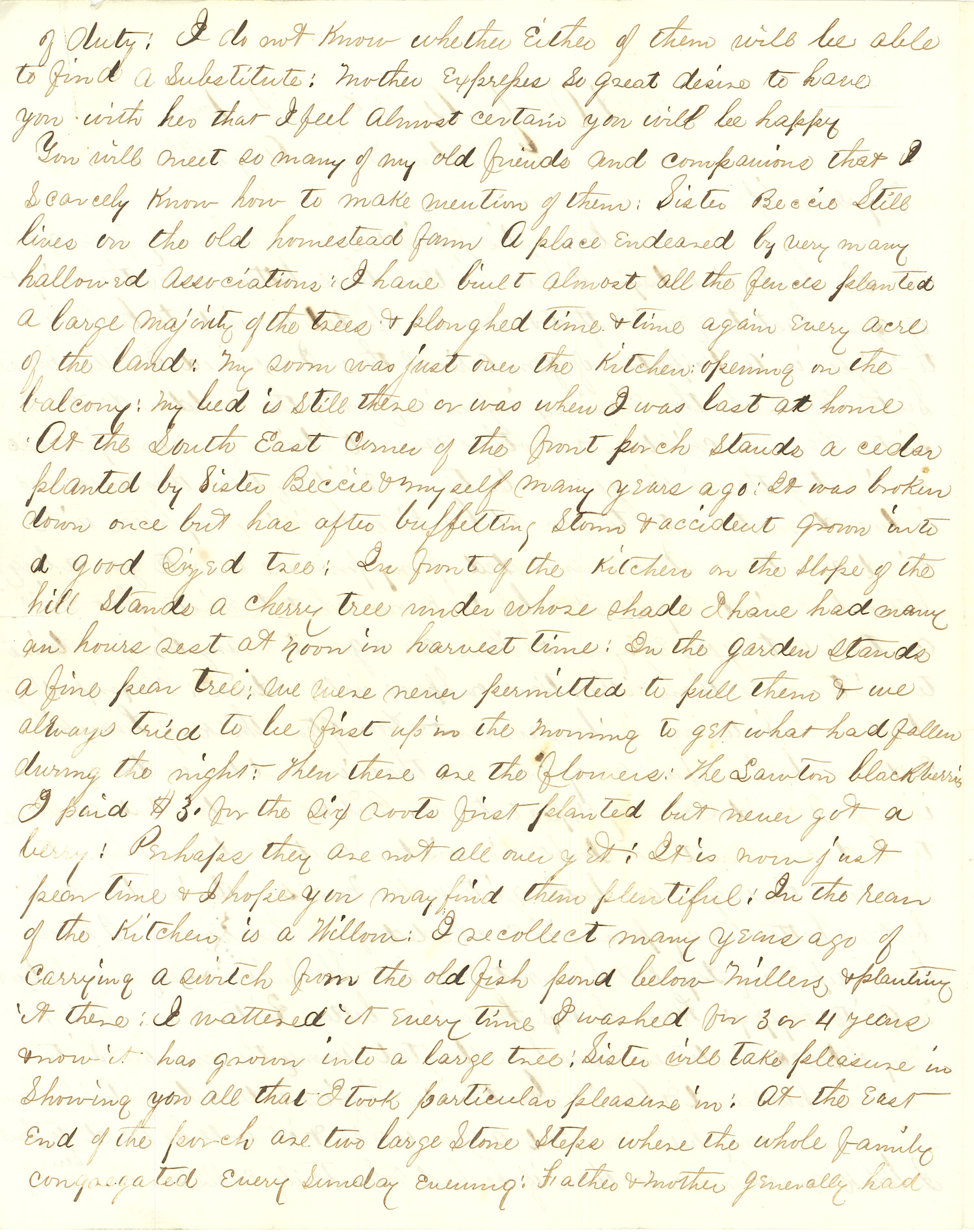 Joseph Culver Letter, August 19, 1863, Page 2