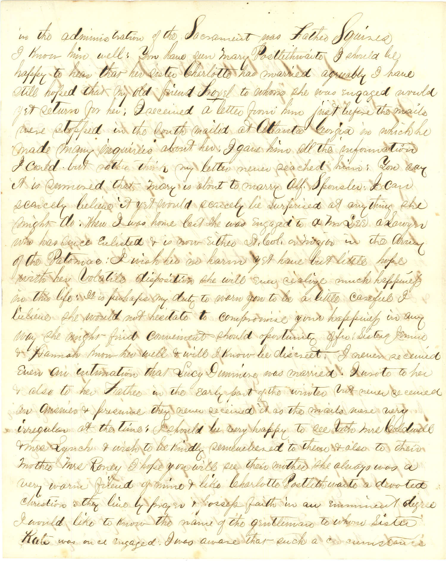 Joseph Culver Letter, September 14, 1863, Page 2
