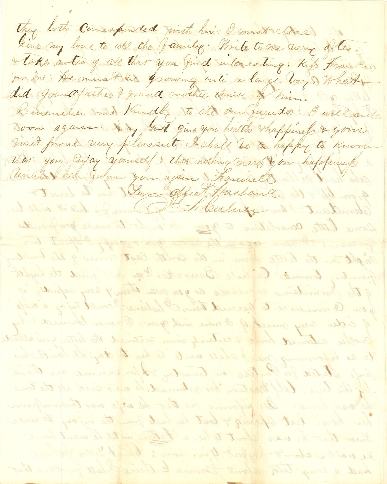 Joseph Culver Letter, September 3, 1863, Page 8