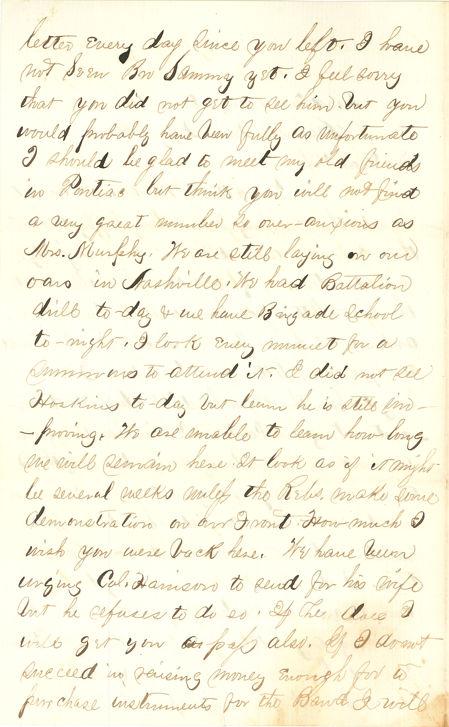 Joseph Culver Letter, February 12, 1864, Page 2