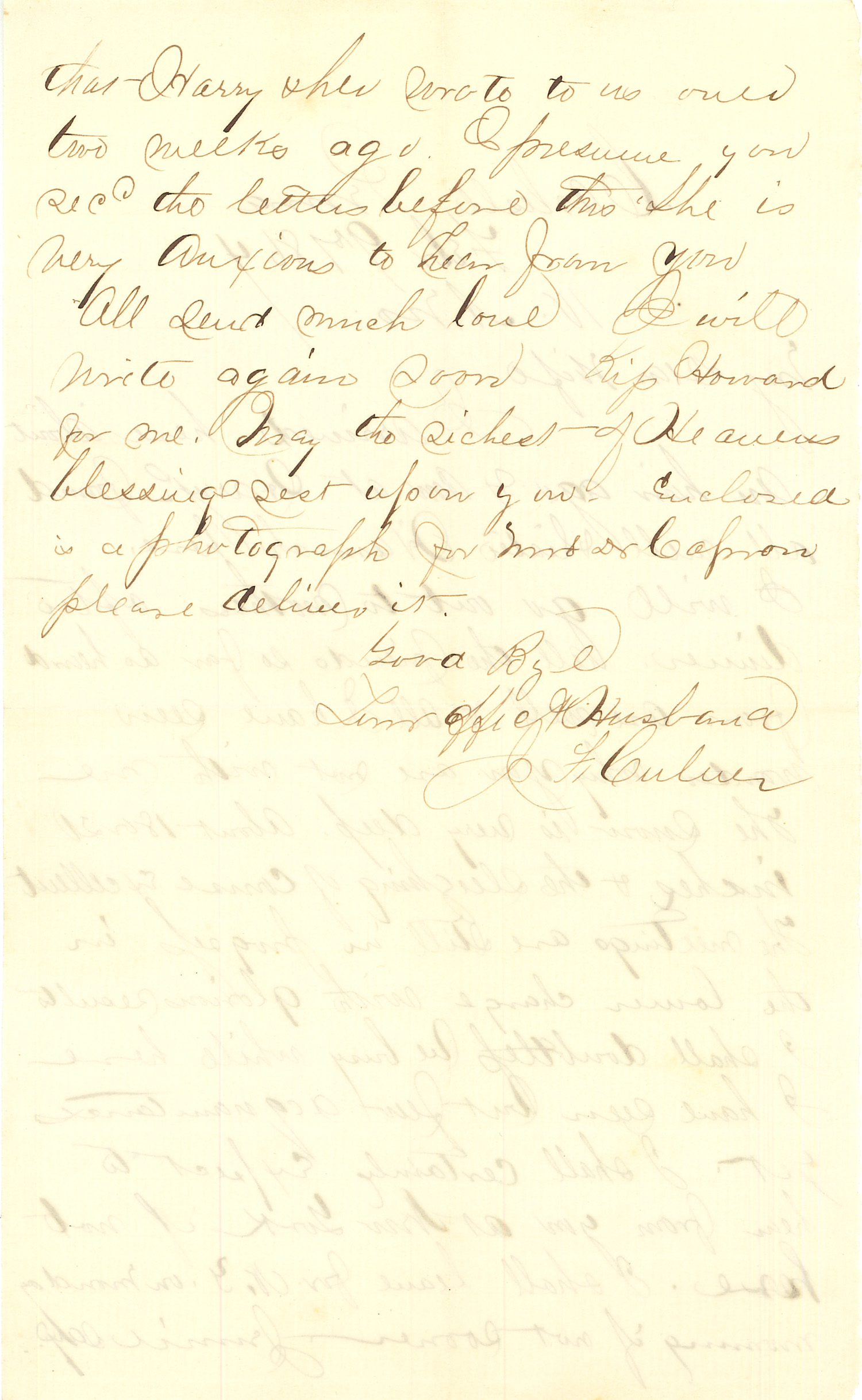 Joseph Culver Letter, February 9, 1864, Letter 2, Page 2