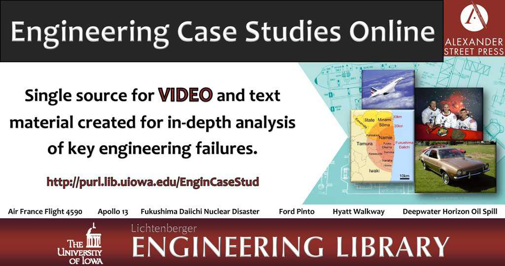 Engineering Case Studies Online Database Trial | Bookmark Daily
