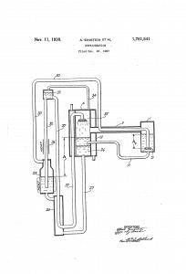 Einstein refrigerator patent image