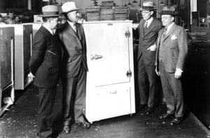 Early Twentieth Century Refrigerator