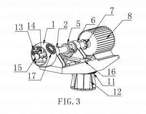 Xu, Xuegen, Yu, Kai, and He, Guorong. Downwind Variable Pitch Wind Turbine Generator. U.S. Patent 20130011262. Filed May 22, 2011. Assigned January 10, 2013. Source: http://www.google.com/patents/US20130011262