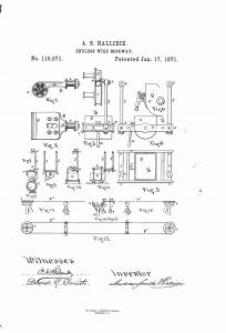Hallidie U.S. Patent 110,971