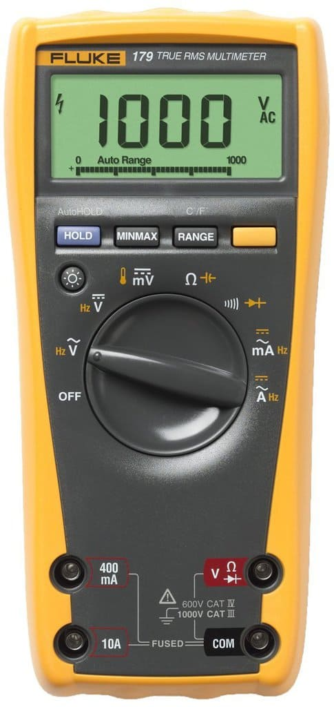 Multimeter (Voltmeter) available for check out from our Tool Library