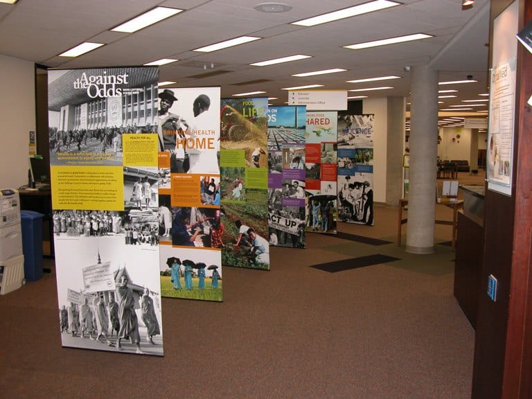"The Hardin Library is hosting The National Library of Medicine's traveling exhibition, ""Against the Odds: Making a Difference in Global Health"" through April 21.  The exhibition earned a best exhibit […]"