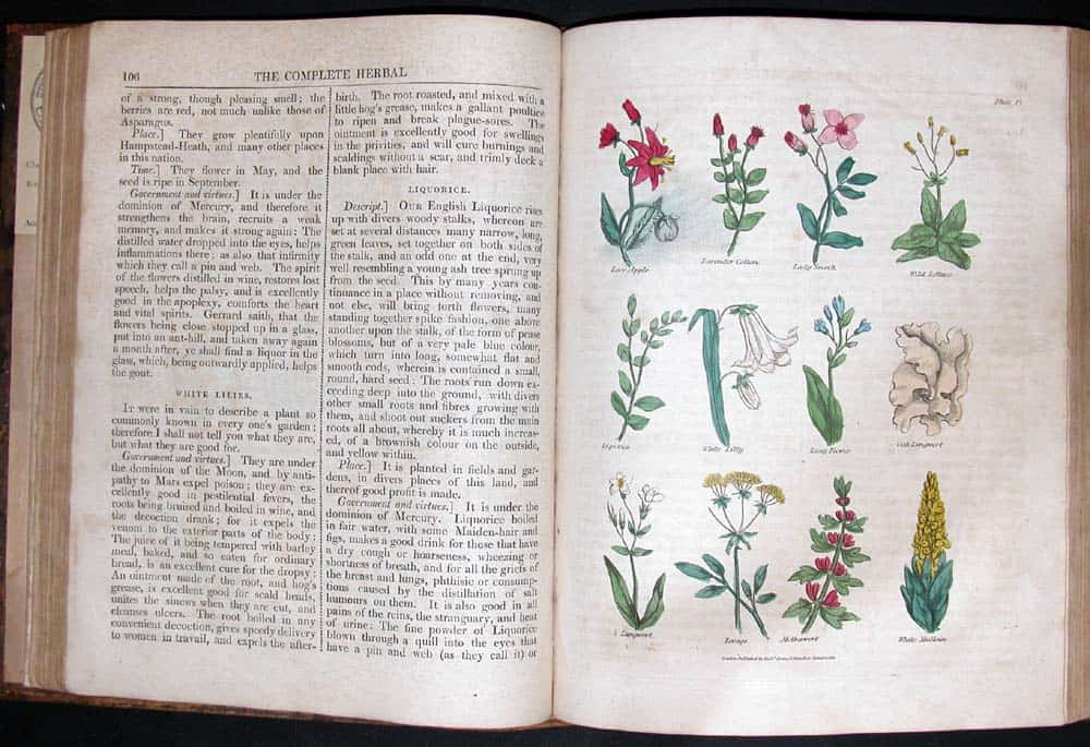 Nicholas Culpeper (1616–1654) was an English botanist, herbalist, physician, and astrologer. His published books, The English Physician (1652) and the Complete Herbal (1653), contain a rich store of pharmaceutical […]