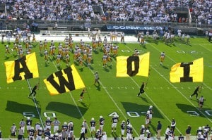 picture of Iowa football