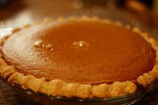 picture of pumpkin pie