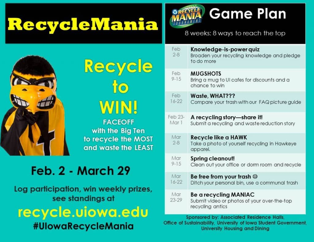 recyclemania flyer