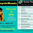 Test how much you know about recycling and get a chance to win a prize!  Take the Knowledge is Power quiz. RecycleMania is a national competition, pitting over 500 campuses […]