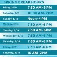 The library will be open shorter hours during The University of Iowa's Spring Break. Our 24-hour study area is open when the library is closed, but you must apply for […]